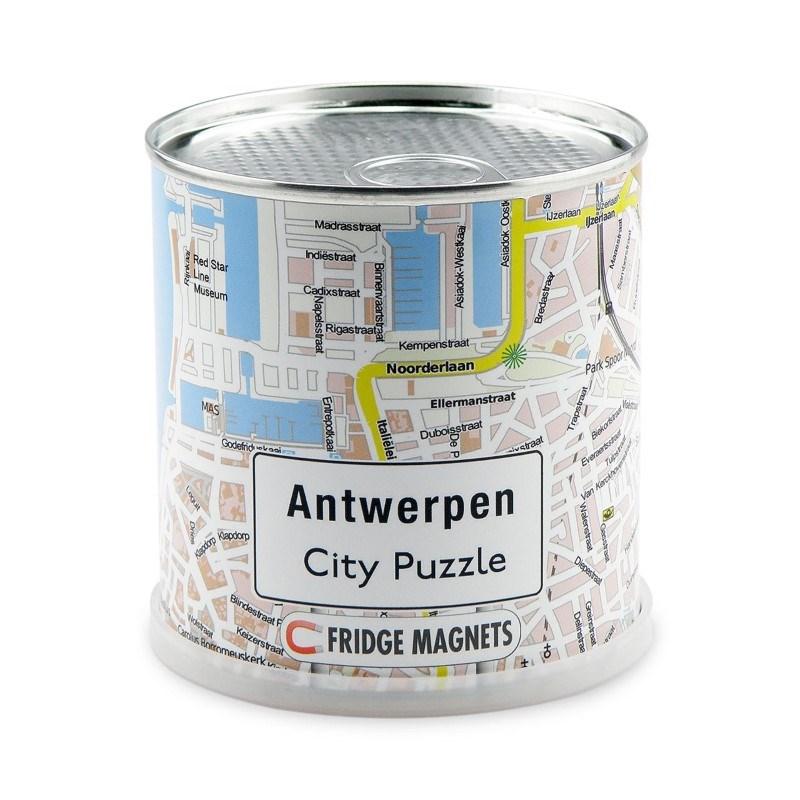 City Puzzle Magneten - Antwerpen