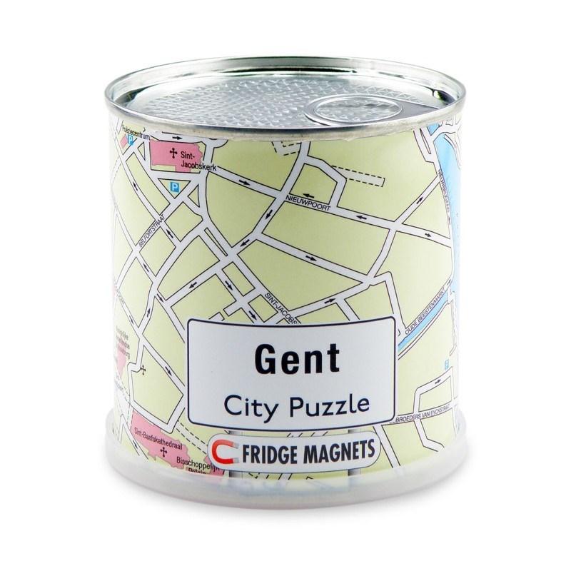 City Puzzle Magneten - Gent