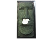 Rotary Hero Moai Tissue box Cover
