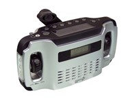 PowerPlus Lynx - Dynamo Solar USB AM/FM Radio - 5 in 1