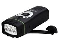 PowerPlus Wolf - Dynamo USB Zaklamp en FM Radio