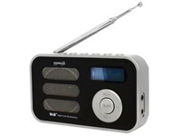 PowerPlus Stork - Solar USB Draagbare DAB+/FM Radio met Alarm