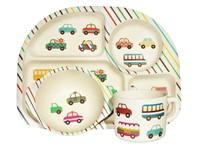 Ecoffee Cup BimBamBoo Kinder Eet Set - Transport