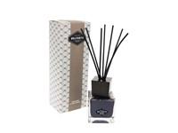 Belforte - Luxe Zwarte Kubus Fragrance Diffuser met Geurstokjes 200 ml – Zenzero e Pepe Nero