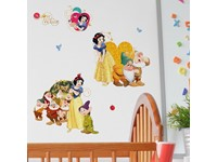 Walplus Kids Decoratie Sticker - Disney Sneeuwwitje en de Zeven Dwergen