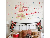 Walplus Home Decoratie Sticker - Engelse Quotes Kerstboom Decoratie Set