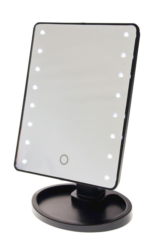 United Entertainment Touch Screen Make-Up Spiegel met LED verlichting - Zwart