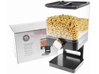 United Entertainment Luxe Enkelvoudige Cornflakes Dispenser - Zwart