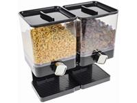 United Entertainment Luxe Dubbele Cornflakes Dispenser - Zwart