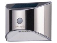 PowerPlus Parakeet - Solar PIR Outdoor 4 LED Lamp