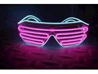 IA LED Light Up Bril - Roze en Aqua