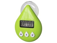 PowerPlus EcoSavers Shower Timer Eco - Digitale LCD Douchetimer met Alarm - Waterbesparend