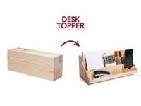Rackpack Desk Topper - Wijn box en Bureau-organizer