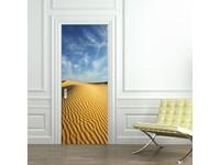 Walplus Deur Decoratie Sticker - Woestijnduin