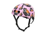 Mini Hornit Lids Fietshelm voor Kinderen - Pug Puppies (M)