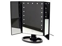 United Entertainment Luxury Touch Screen Make-Up Spiegel met LED verlichting - Zwart