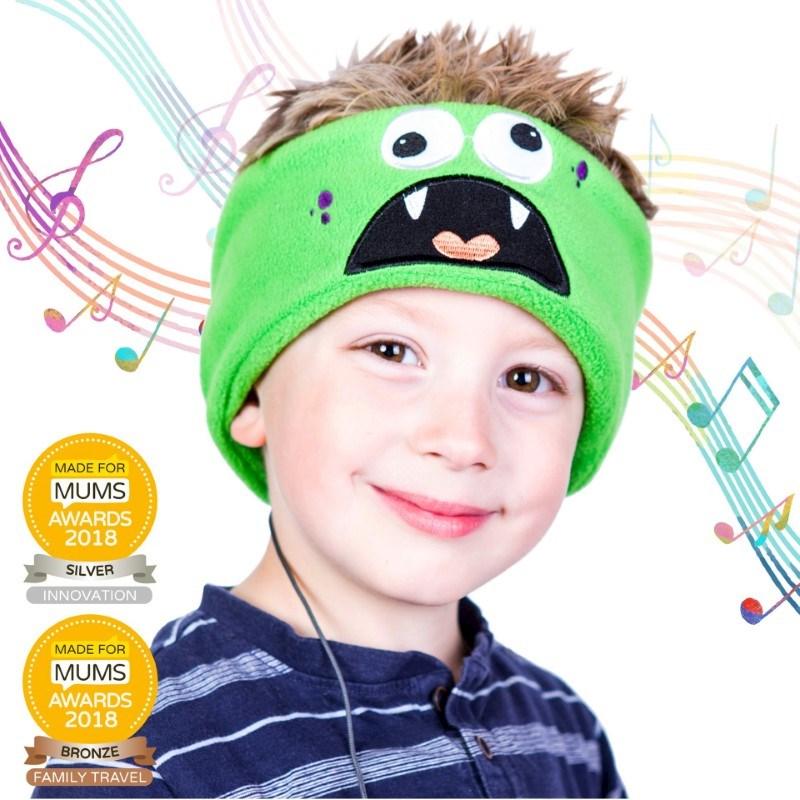 Snuggly Rascals v.2 - Over-ear Kinderkoptelefoon - Monster - Fleece
