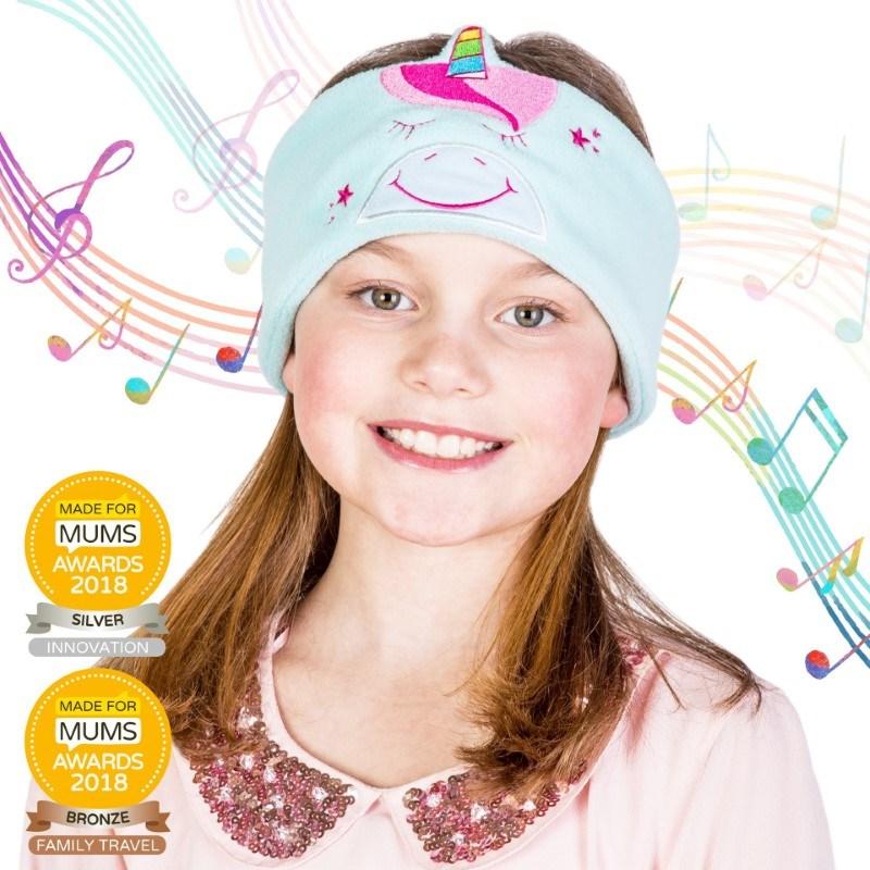 Snuggly Rascals v.2 - Over-ear Kinderkoptelefoon - Eenhoorn - Fleece