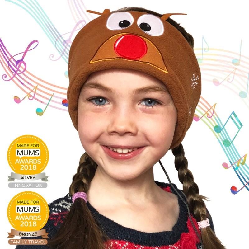 Snuggly Rascals v.2 - Over-ear Kinderkoptelefoon - Rendier - Fleece