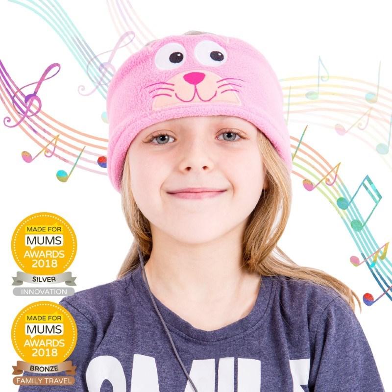 Snuggly Rascals v.2 - Over-ear Kinderkoptelefoon - Kat - Katoen