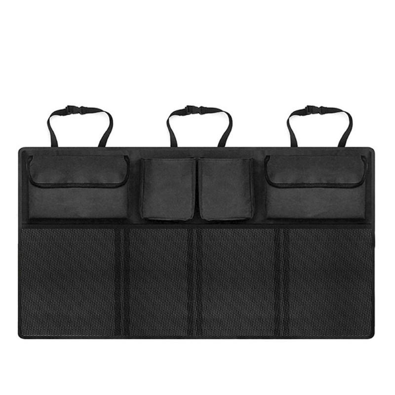 United Entertainment - Autostoel Organiser Dubbel - 90x34 cm - Zwart