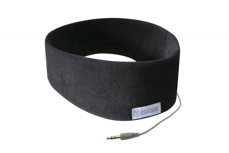 SleepPhones® Classic Fleece Midnight Black/Zwart - Small/Extra Small