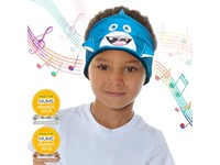 Snuggly Rascals v.2 - Over-ear Kinderkoptelefoon - Haai Blauw - Katoen