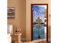 Walplus Deur Decoratie Sticker - Taj Mahal
