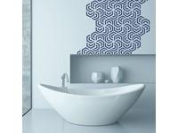 Walplus Home Decoratie Sticker - Polygoon Geometrisch Patroon