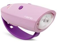 Mini Hornit NANO - Fietslicht met Geluidseffecten - Roze/Paars