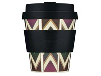 Ecoffee Cup Bear Market - Bamboe Beker - 175 ml - met Zwart Siliconen
