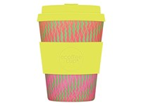 Ecoffee Cup Horsome Orse - Bamboe Beker - 350 ml - met Lime Siliconen