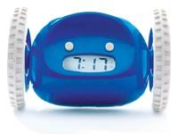 Clocky - Alarm Klok op Wielen - Marineblauw