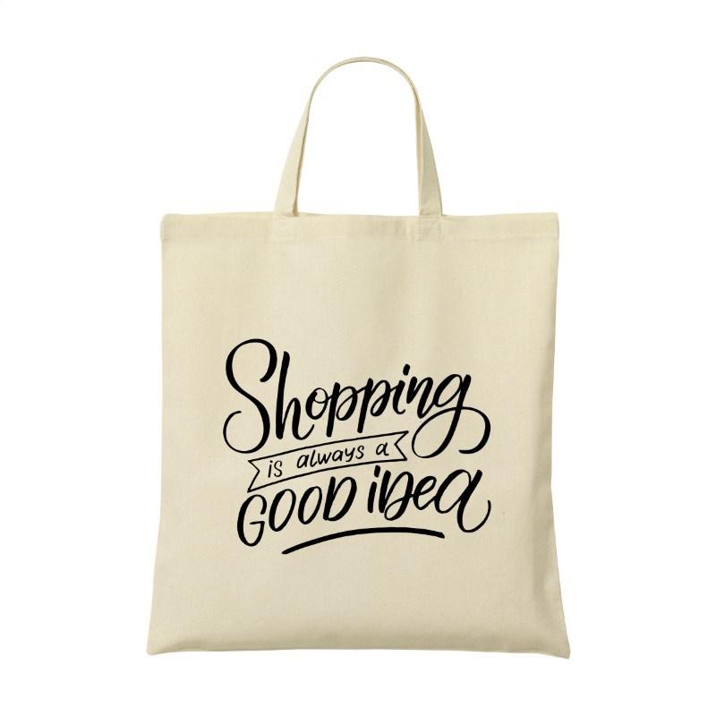 ShoppyBag (135 g/m²) korte hengsels winkeltas