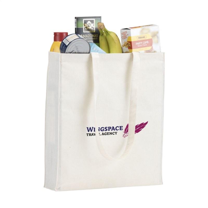 Natural Square Bag (165 g/m²) katoenen tas