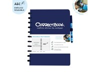 Correctbook A4 Softcover Navy Blauw