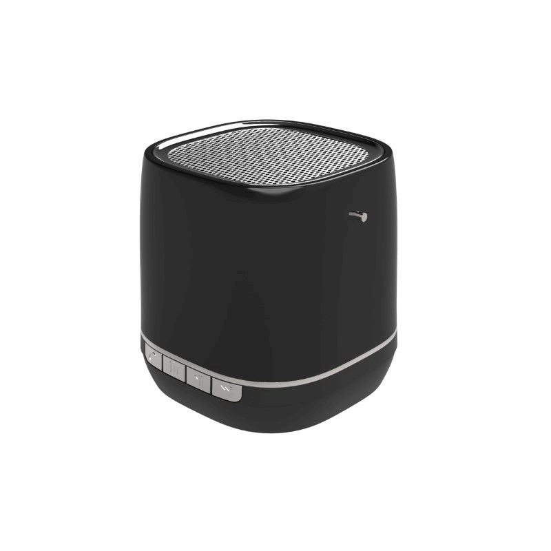 Retro Speaker No personalization Zwart