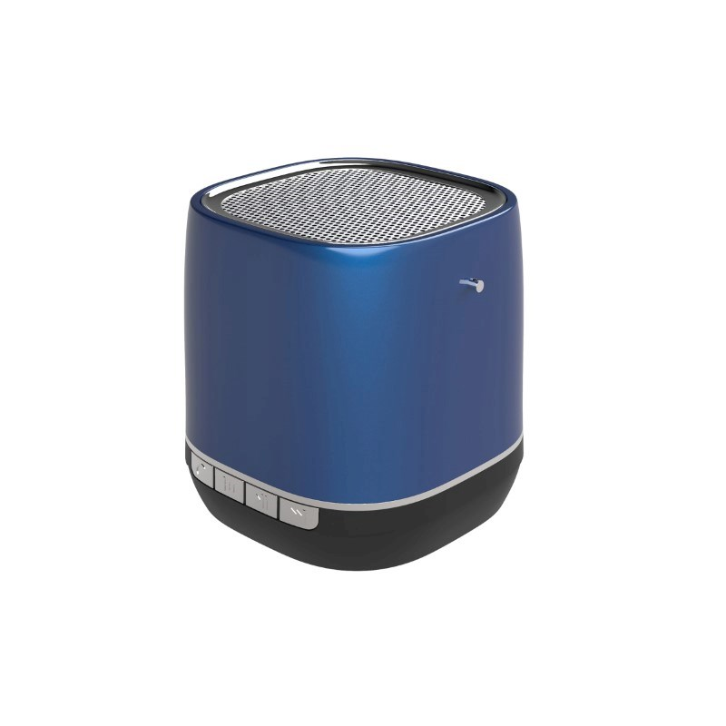 Retro Speaker No personalization Blauw