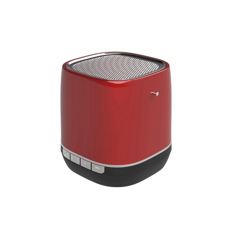 Retro Speaker No personalization Rood