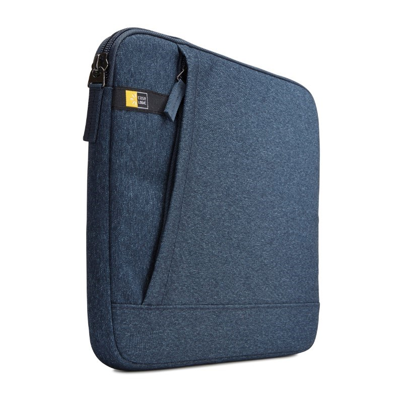 """Case Logic Huxton Laptop Sleeve 11.6"""" Thermal print in full color Midnight Navy"""