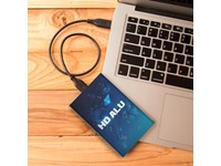 Hard Drive Alu SSD 480 GB Max Print Zilver met bedrukking in full color