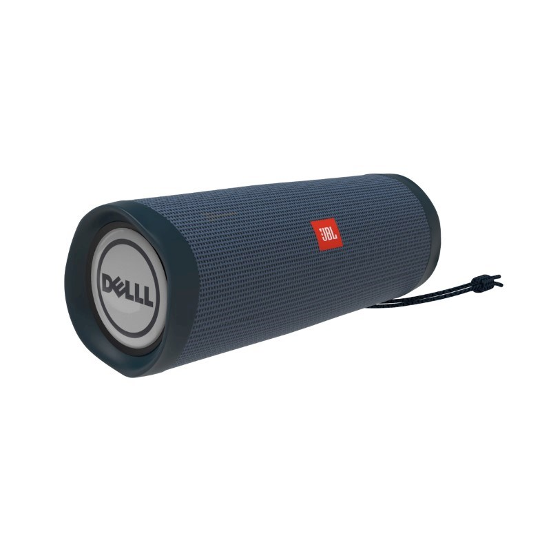 JBL Flip 5 Personalized Doming in full color (2x) Blauw met full color doming