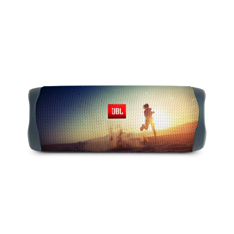 JBL Flip 5 Personalized Max Print Blauw met bedrukking in full color