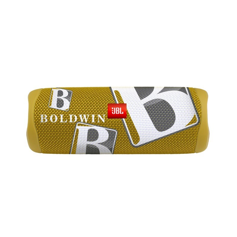 JBL Flip 5 Personalized Max Print Mustard Yellow met bedrukking in full color