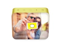 JBL Go 2 Personalized Lemonade Yellow met full color doming