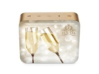 JBL Go 2 Personalized Pearl Champagne met full color doming