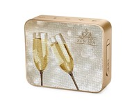 JBL Go 2 Personalized Pearl Champagne met bedrukking in full color