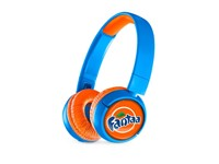 JBL On-Ear JR300BT Personalized Rocker Blue met full color doming