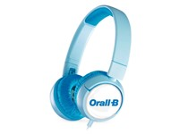 JBL On-Ear JR300 Personalized Ice Blue met full color doming