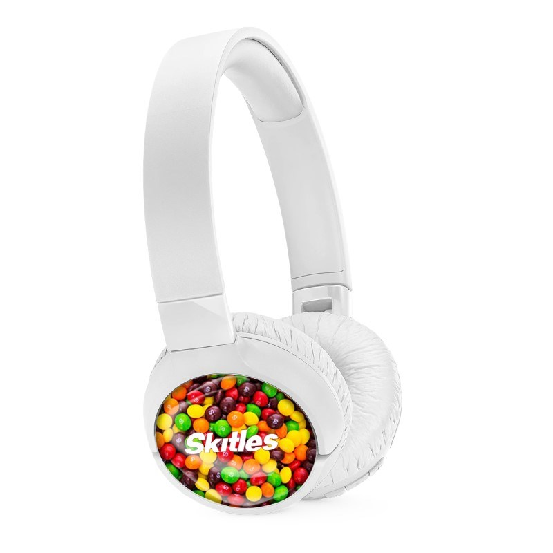 JBL On-Ear TUNE 600BTNC Personalized Wit met full color doming